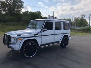 Stunning G-500 Mercedes! With $9000 in Upgrades!