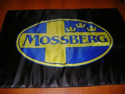 Mossberg Shotgun Flag Polyester Blue Mossberg Flag Deco Mancave 2d carry gun