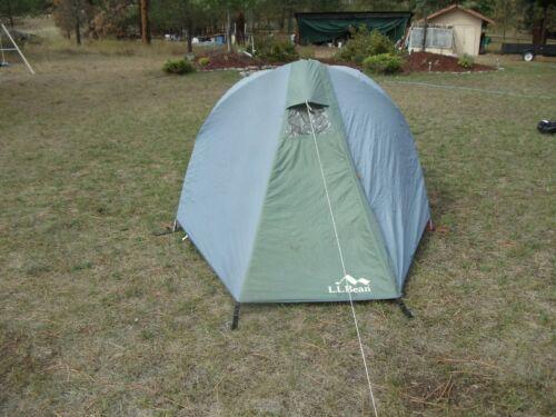 "LL Bean 3-Person ""Light Stuff 3"" Hexagon Dome Tent  with Vestibule Rain Fly"