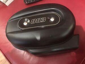 Harley sportster 883 stock air filter assembly + filter
