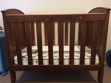 Baby timber cot and change table Benowa Gold Coast City Preview