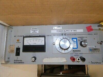California Instruments 501tc Ac Power Source