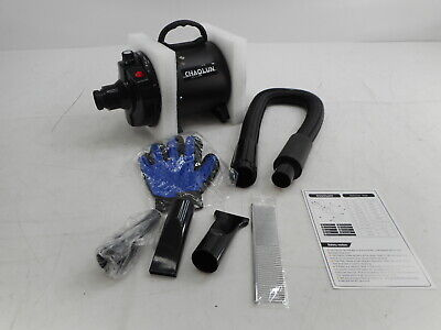 CHAOLUN CL-1999 - Professional Pet Blow Dryer, 3.2HP, Black - OPEN BOX RETURN