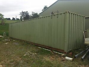 40ft shipping container Dayboro Pine Rivers Area Preview