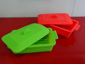 Molde silicona vapor microondas horno estuche recipiente - Moldes de silicona para horno ...