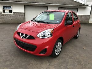 2015 Nissan Micra financing available!
