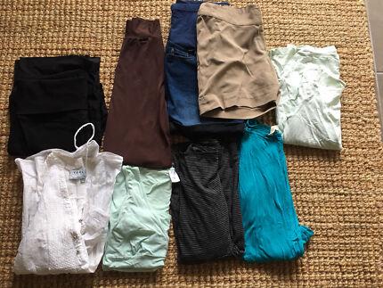 Maternity bundle - shorts, pants, skirts, tops