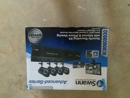 Swann Security Recording Kit with 4 Camera Darwin City Preview