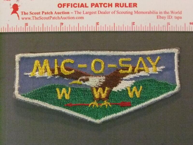 Boy Scout OA 541 Mic-o-say First Flap 7151JJ