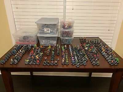 Heroclix Lot - Massive Collection - 16 Sets - Over 600+ Pieces