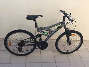 Huffy Cycle 18 Speed/Dual Suspension + Bicycle Lock and Helmets Brookvale Manly Area Preview