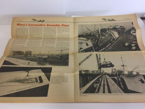 1945  Press Article & Photos. WISCO