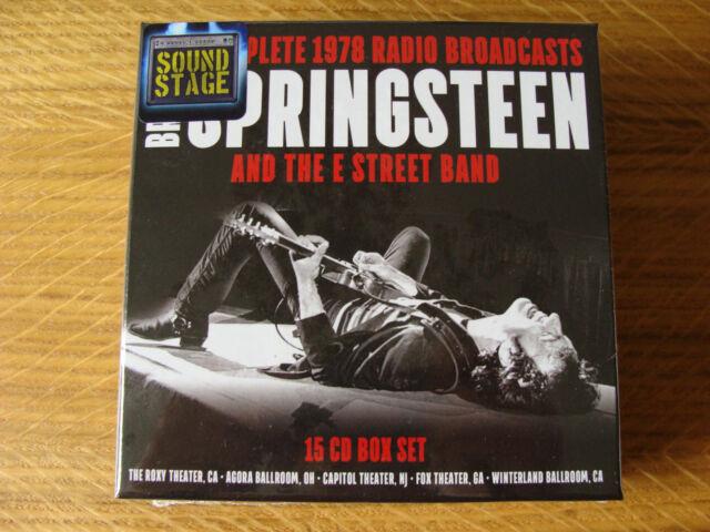 CD Box Set: Bruce Springsteen : Complete 1978 Radio Broadcasts : 15 CDs Sealed