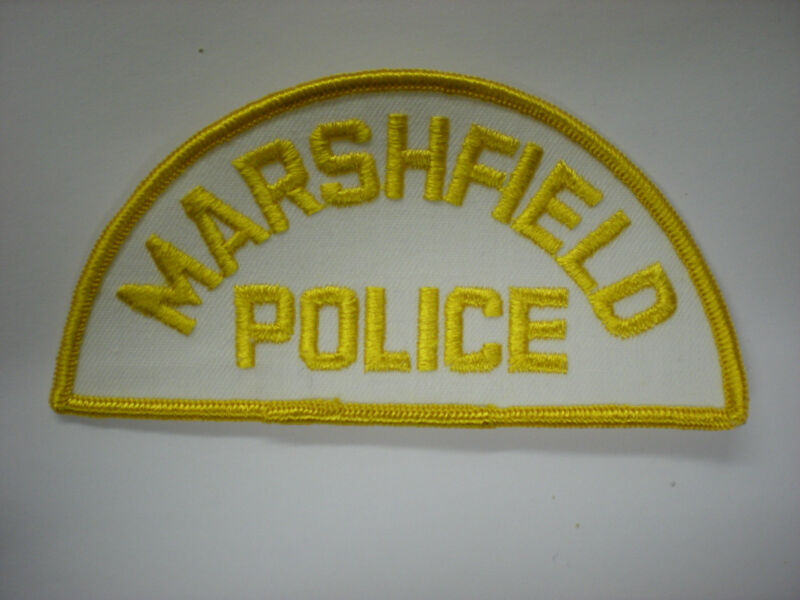 MARSHFIELD, MASSACHUSETTS POLICE DEPARTMENT PATCH