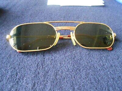 Vintage Cartier Sonnenbrille goldfarben sehr guter Zustand