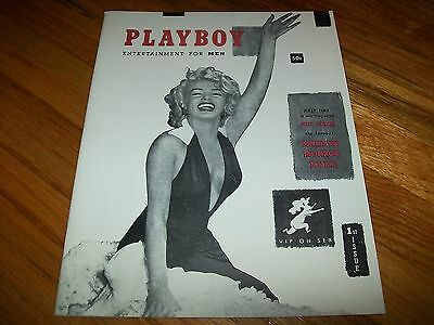 DECEMBER 1953 PLAYBOY REPRINT FIRST ISSUE PREMIERE 1ST MARILYN MONROE EXCELLENT!