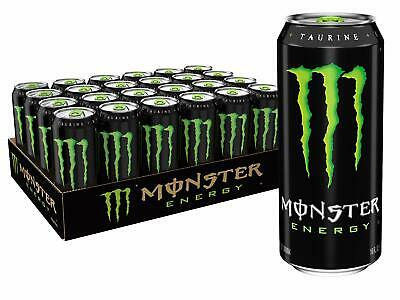 Monster Energy Drink, 16-Ounce Cans (Pack of 24) - Free - 24 Pack Of Monster