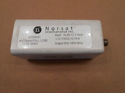 Njr 1209hc Pll Lnb 10.95 To 11.7 Ghz Used Working