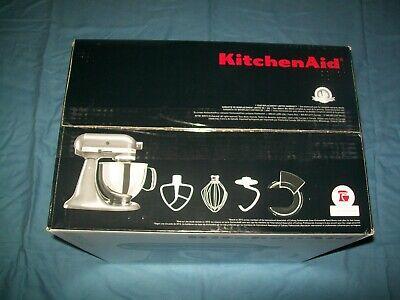 New KitchenAid Artisan Series 5 Quart Stand Mixer KSM150PSQG Liquid Graphite