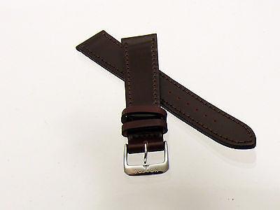 NOMOS Horween Genuine Shell Cordovan Lederband 18 mm braun 19173