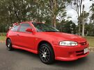 2003 Mitsubishi Mirage CE Hatch Sporty Low Kms Red