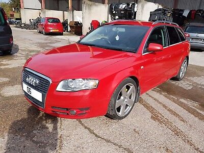 2006 AUDI A4 B7 S-LINE 2.0 TDI  BRE, RED, 6 SPEED GEARBOX, WHEEL NUT, BREAKING for sale  Shipping to Ireland