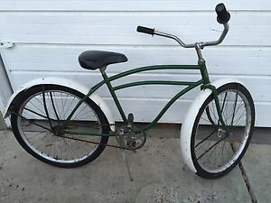 "Antique (early 40s) ""Premier Cycle Works"" Cruiser"