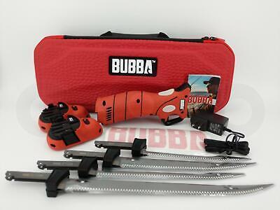 Bubba Fishing Li-Ion Cordless Electric Fillet Knife Fish Non-Slip Grip Handle