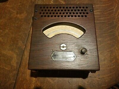 Vintage Weston Electrical Instrument Co. Ac Voltmeter - Model 155