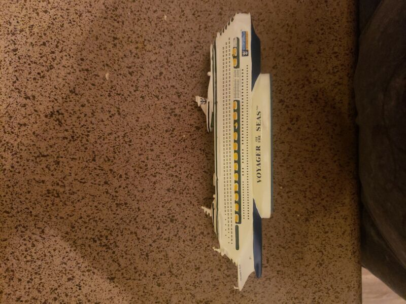 "Royal Caribbean VOYAGER Of The Seas Cruise Ship 12"" Resin Model"