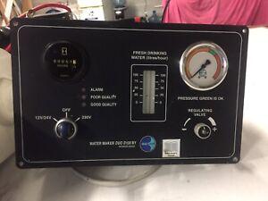Watermaker dessalator duo