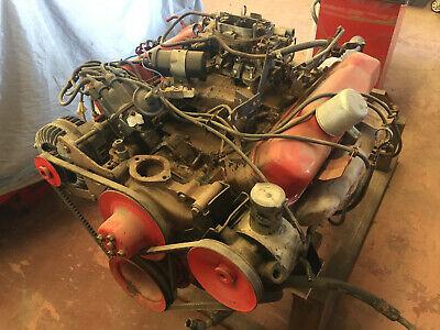 Jensen Interceptor engine and auto box mk1 V8 mopar.