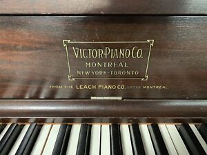 FREE Canadian-Made upright piano with A STORY