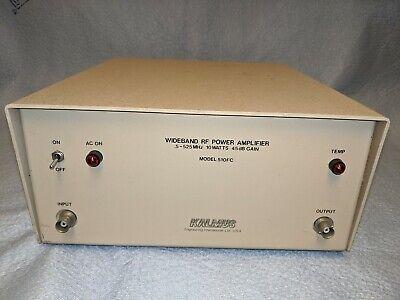 Power Amplifier Wideband Rf 5-525 Mhz 10 Watts 45 Db Gain Model 510fc By Kalmus