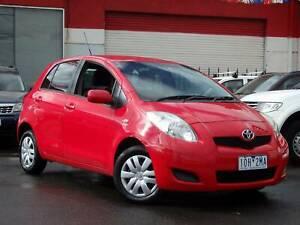 2011 Toyota Yaris YR AUTO Hatch *** $8,650 DRIVE AWAY *** Footscray Maribyrnong Area Preview
