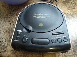 Sony Dream Machine FM/AM Radio Built in CD Player Dual Alarm Clock ICF-CD815