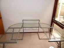 Glass Desk Edgewater Joondalup Area Preview