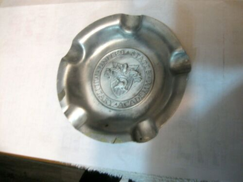 Antique United States Military Academy  Ashtray and usn whistle