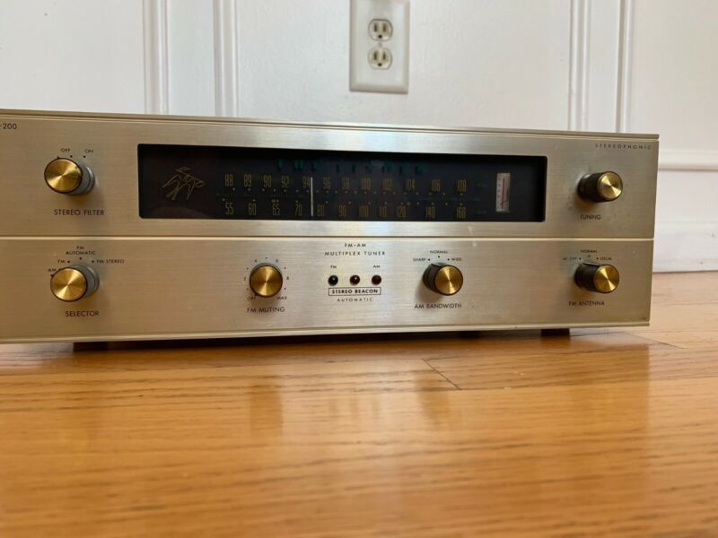 Fisher R200 Tuner - Serviced Updated Tubes