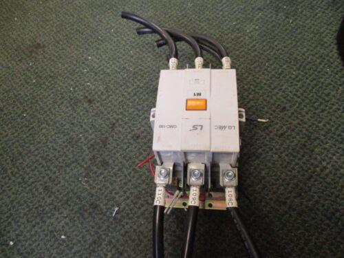 LS Contactor GMC-180 180A 220/440V Coil: 100-240VAC/100-220VDC Used