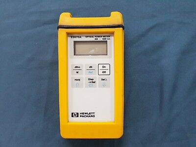 Hpagilente5970a Optical Power Meter Defected No Power On
