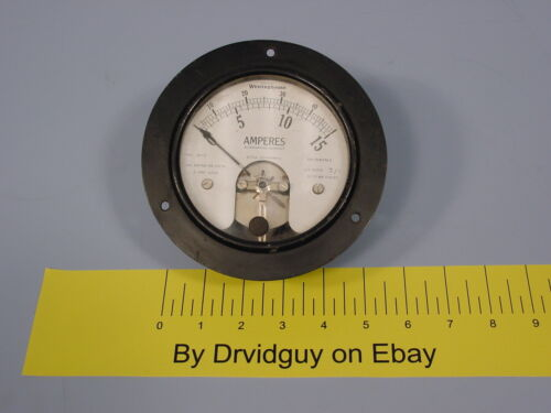Westinghouse Type DY-2 Vintage Ammeter