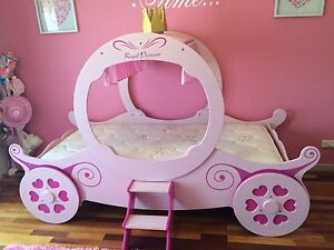 Girls Princess Single Bed Drewvale Brisbane South West Preview