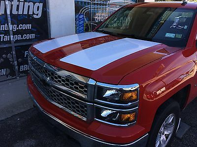 2014 2015 Chevy Silverado Hood Tailgate And Carbon Fiber Emblem Graphic Package