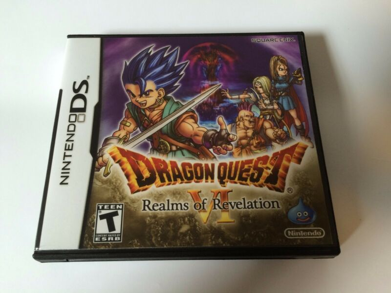 Dragon Quest VI Realms of Revelation - Nintendo DS - Replacement Case - No Game