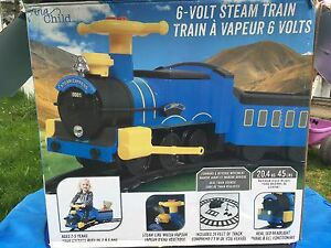 Toddler /Kids 6 Volt Steam Train - re chargeable