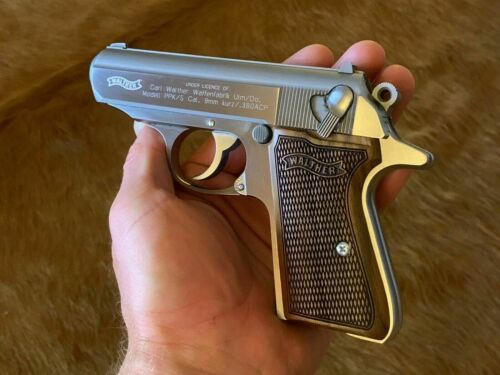 Walther PPK/S  Walnut Wood grips fit german ppk/s fit smith & wesson