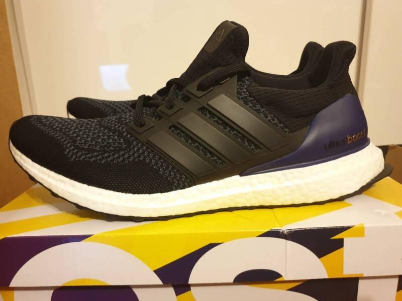 b129bfc7d 2018 Adidas Ultra Boost OG Black Purple Size 9.5 G28319