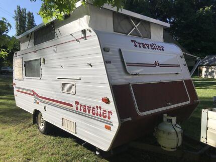 Traveller Caravan Freeburgh Alpine Area Preview