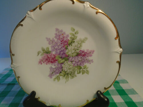 Schumann Arzberg Germany Porcelain Plate/ Lilac Time